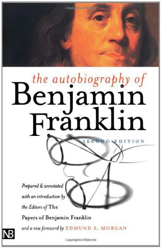 Benjamin Franklin The Autobiography Of Benjamin Franklin 0002 Edition;