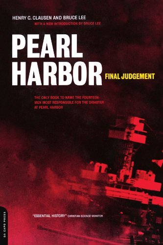 Henry Clausen Pearl Harbor Final Judgement