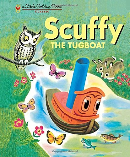 Golden Books Scuffy The Tugboat