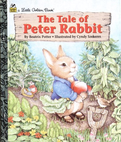 Golden Books Tale Of Peter Rabbit The