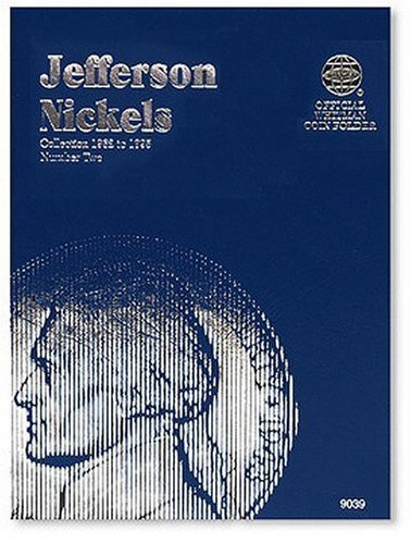 Whitman Publishing Coin Folders Nickels Jefferson 1962 To 1995 Number Two