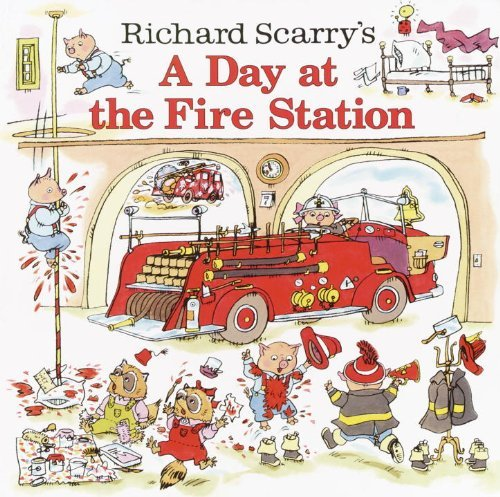 Huck Scarry Richard Scarry's A Day At The Fire Station