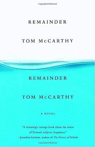 Tom Mccarthy Remainder