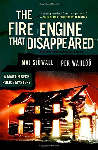 Maj Sjowall The Fire Engine That Disappeared A Martin Beck Police Mystery (5) 0002 Edition;