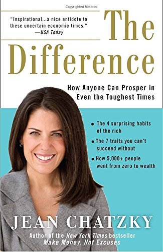 Jean Chatzky The Difference How Anyone Can Prosper In Even The Toughest Times