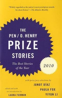 Laura Furman Pen O. Henry Prize Stories The 2010