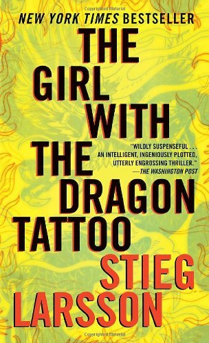 Stieg Larsson Girl With The Dragon Tattoo The