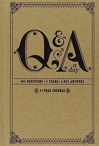 Potter Style Q & A A Day 5 Year Journal