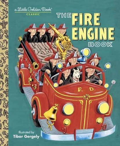 Tibor Gergely Fire Engine Book The