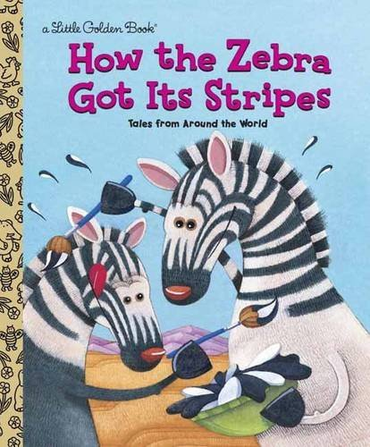 Golden Books How The Zebra Got Its Stripes