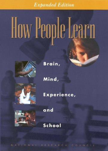 National Research Council How People Learn Brain Mind Experience And School Expanded Edi Expanded