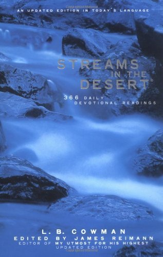 L. B. E. Cowman Streams In The Desert 366 Daily Devotional Readings Updated