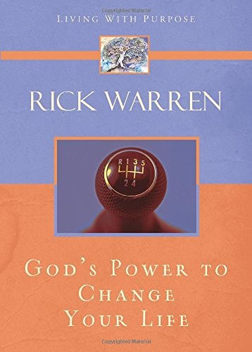 Rick Warren God's Power To Change Your Life Supersaver