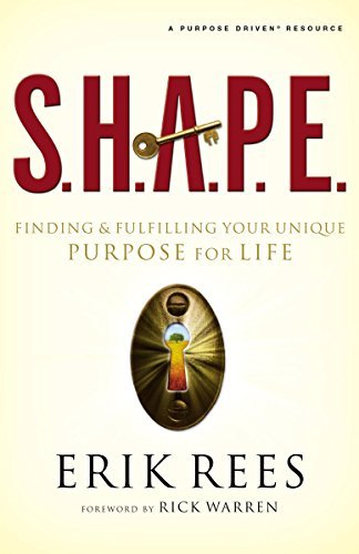 Erik Rees S.H.A.P.E. Finding And Fulfilling Your Unique Purpose For Li
