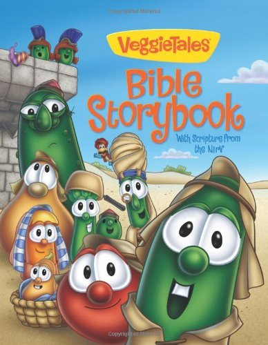 Cindy Kenney Veggietales Bible Storybook With Scripture From The Nirv Supersaver