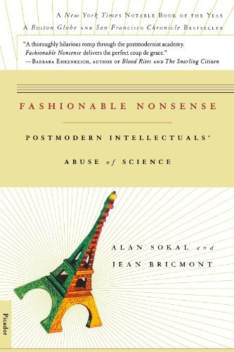 Alan Sokal Fashionable Nonsense Postmodern Intellectuals' Abuse Of Science