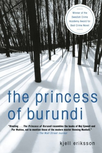 Kjell Eriksson The Princess Of Burundi