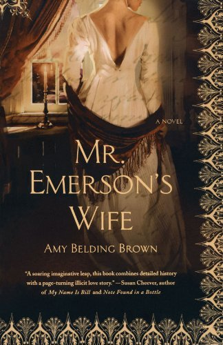Amy Belding Brown Mr. Emerson's Wife