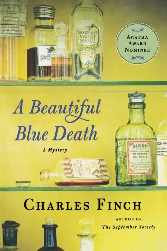 Charles Finch A Beautiful Blue Death The First Charles Lenox Mystery