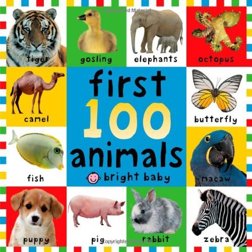 Roger Priddy First 100 Animals Big Board