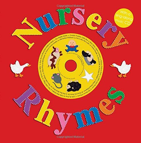 Roger Priddy Nursery Rhymes With A Sing Along Music CD [with Sing Along Cd]