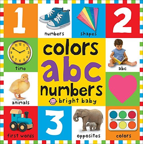 Roger Priddy Bright Baby Colors Abc Numbers