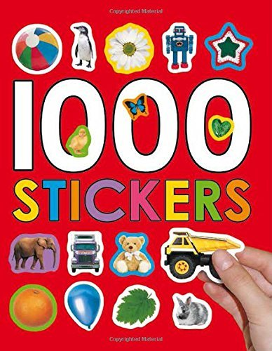 Roger Priddy 1000 Stickers [with Stickers]