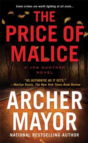 Archer Mayor The Price Of Malice