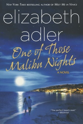 Elizabeth Adler One Of Those Malibu Nights