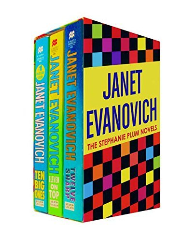 Janet Evanovich Janet Evanovich Boxed Set 4 (10 11 12) Ten Big Ones Eleven On Top And Twelve Sharp