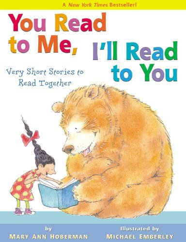 Mary Ann Hoberman You Read To Me I'll Read To You Very Short Stories To Read Together