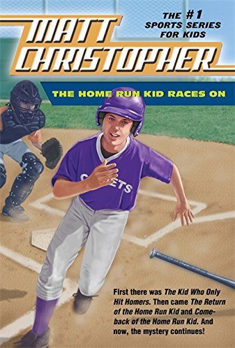 Matt Christopher The Home Run Kid Races On