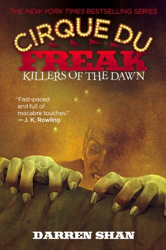 Darren Shan Killers Of The Dawn