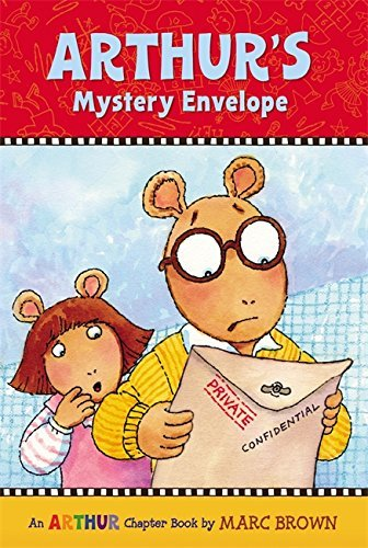 Marc Tolon Brown Arthur's Mystery Envelope Chapter Book # 1