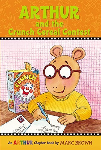 Marc Brown Arthur And The Crunch Cereal Contest