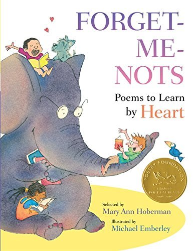 Mary Ann Hoberman Forget Me Nots Poems To Learn By Heart
