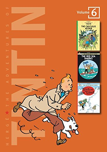 Herge The Adventures Of Tintin Volume 6