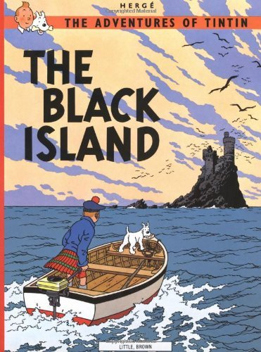 Herge The Adventures Of Tintin Black Island