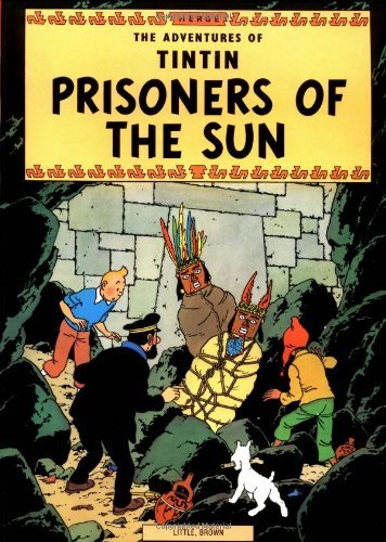 Herge The Adventures Of Tintin Prisoners Of The Sun