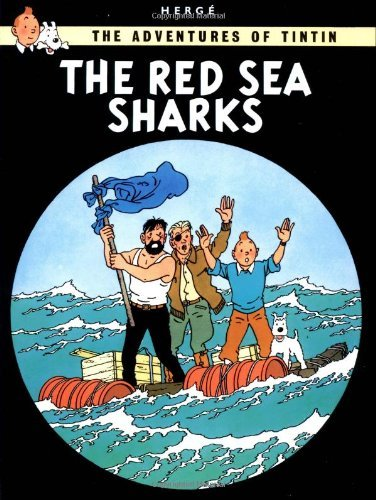 Herge The Adventures Of Tintin The Red Sea Sharks