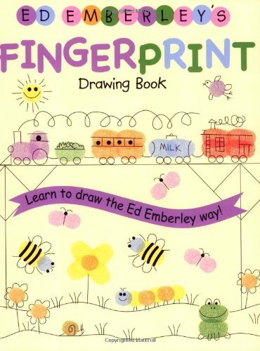 Ed Emberley Ed Emberley's Fingerprint Drawing Book