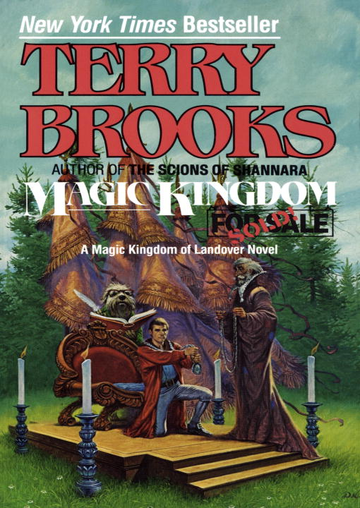 Terry Brooks Magic Kingdom For Sale Sold!