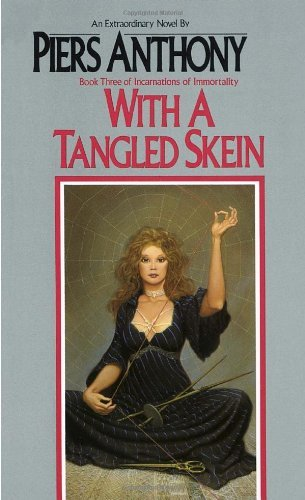 Piers Anthony With A Tangled Skein