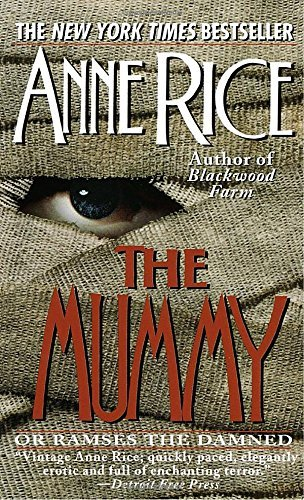 Anne Rice The Mummy Or Ramses The Damned