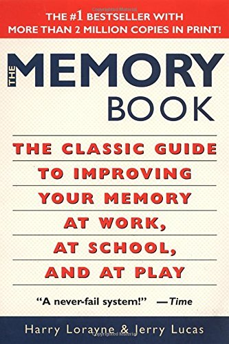 Harry Lorayne The Memory Book The Classic Guide To Improving Your Memory At Wor