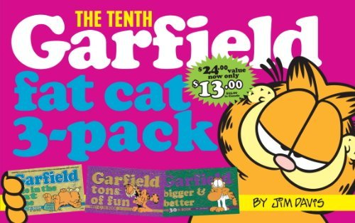 Jim Davis Garfield Fat Cat 3 Pack #10 Contains Garfield Life In The Fat Lane (#28); Ga