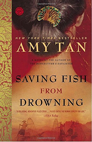 Amy Tan Saving Fish From Drowning