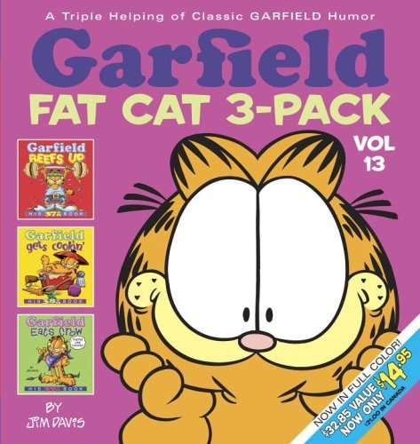 Jim Davis Garfield Fat Cat 3 Pack #13 A Triple Helping Of Classic Garfield Humor Colorized