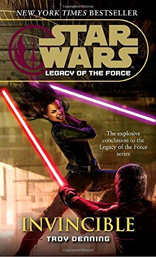 Troy Denning Invincible Star Wars Legends (legacy Of The Force)