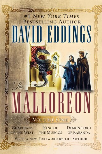 David Eddings The Malloreon Volume One Guardians Of The West King Of The Murgos Demon Lo